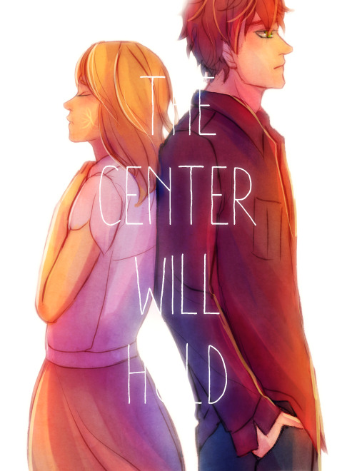 """ We are the center. "" Sydney and Adrian from the Bloodlines series by Richelle Mead."