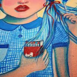 Bits of detail of this lil firestarter #artworks #artsy #art #perthcreatives #perthartist #illustration #art #painting #redheads #lowbrow #discoverperthartists #perthpop #perthstagram #doodle #sketch #gasbombgirl #visualart #waart #fashionart #pinup #perthartscene #pulp
