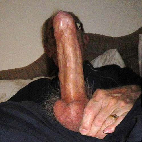 His grandfathers large cock