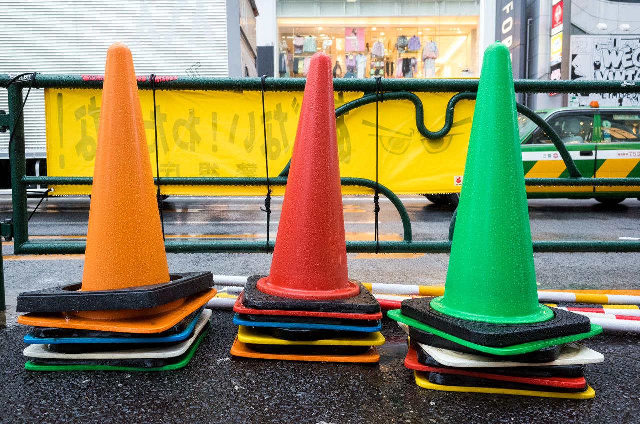 Colorful Cones, Harajuku (原宿)