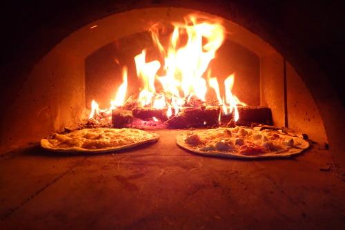 Un vrai four à pizza je vous dis !