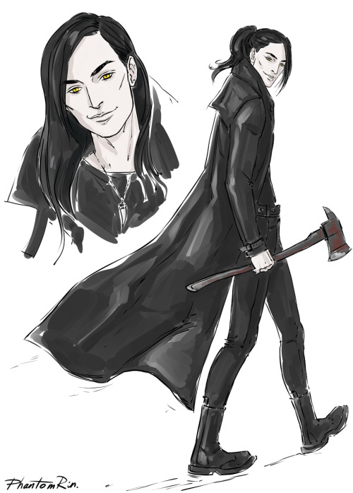 "Jackal (""Blood of eden"" by @Jkagawa )He's such a charmer that I cannot not like him lol:)"