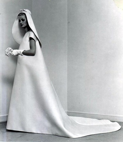 3c2a6b4762dc6 1960s Balenciaga wedding dress – Vintage Stuff