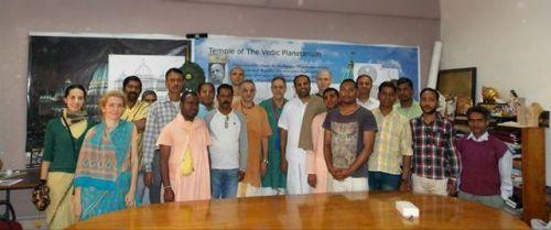 TOVP Monitoring te progress Album with photos Sadbhuja