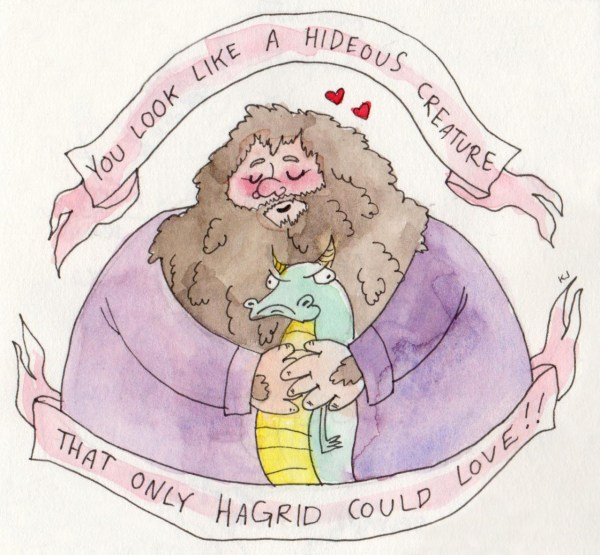 An official post of my Harry Potter Valentines... - Drarry ...