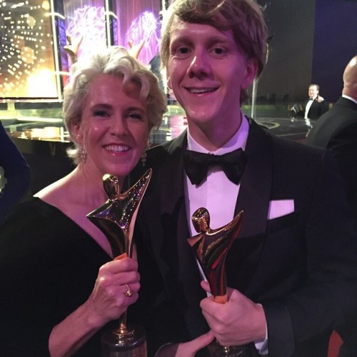 We won #AACTA awards! @joshthomas87 won Best Screenplay in Television and Debra Lawrance (Mum) won Best Performance in a TV Comedy. Yeeeaah. Thanks guys. Go team. http://ift.tt/1ycBgmB