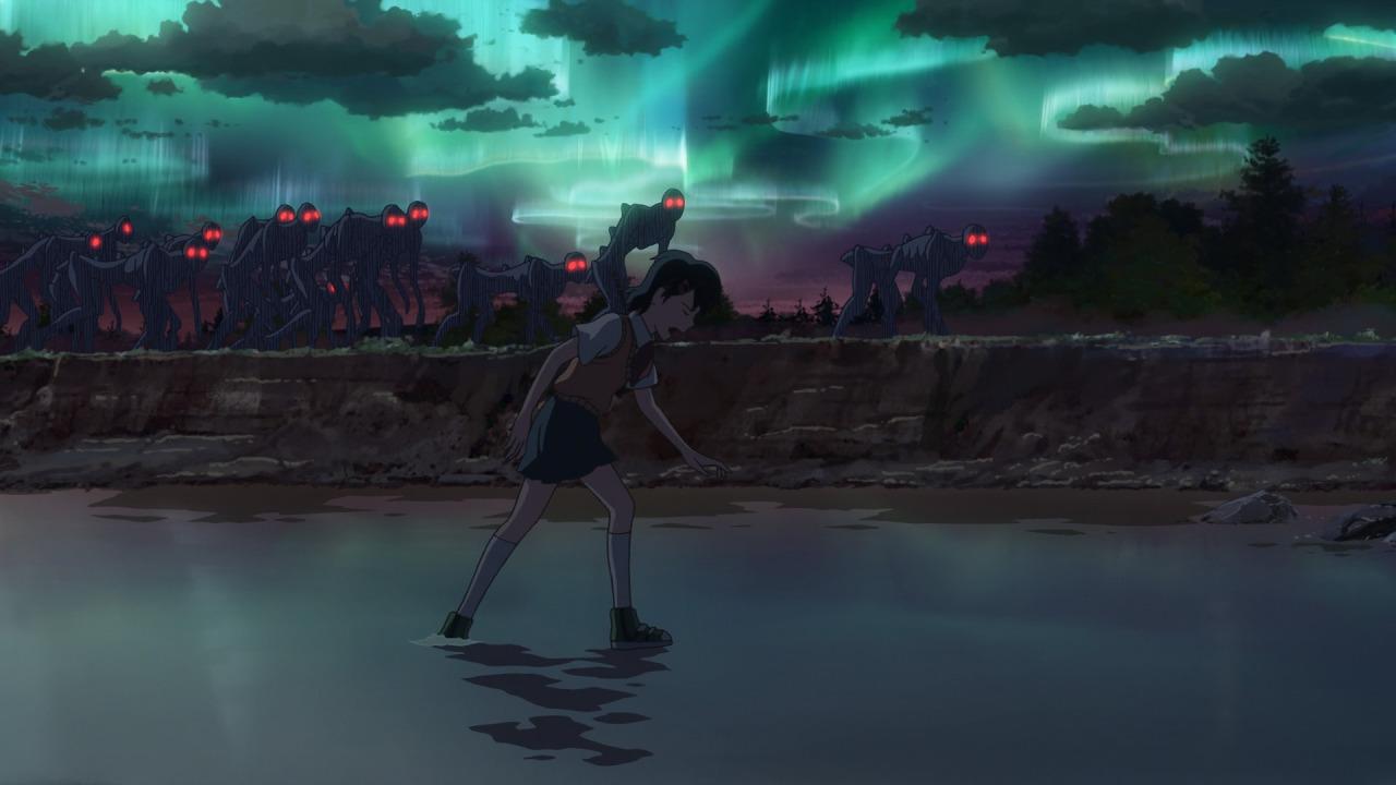 Asuna dikerubutin kawanan Izoku, yang selalu sukses bikin saya takut beneran tiap mereka muncul. sumber dari sini