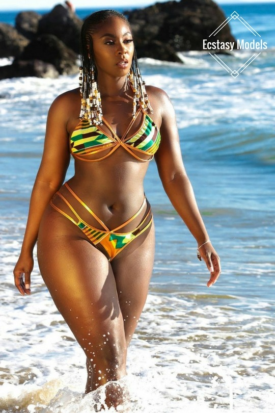 Kentekini Bathing Suit: @Redstarcollection Fashion Look by truemahogany