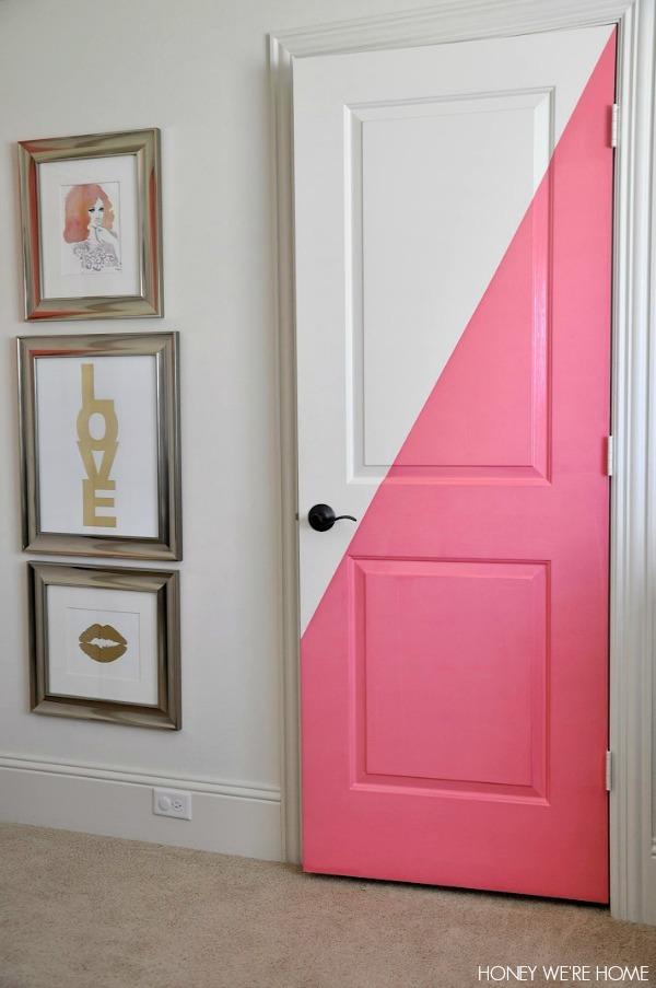 14 Puertas De Interior Pintadas De Colores La Cartera Rota