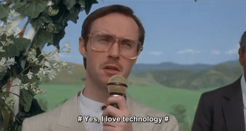 I Love Technology - Kip from Napoleon Dynamite