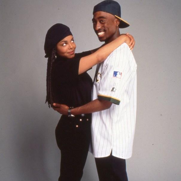 693902ada84 Janet Jackson with Tupac Shakur (1993) – Vintage Stuff