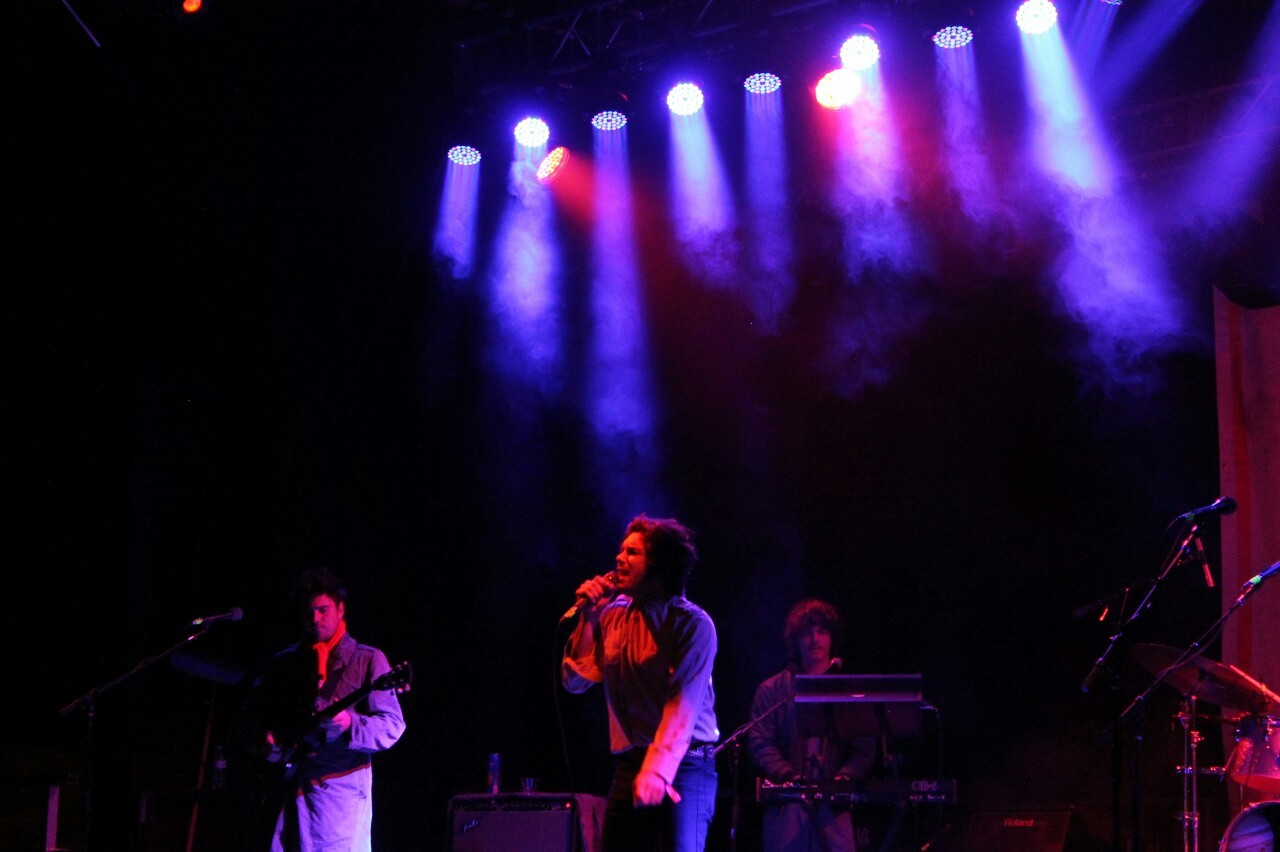 The Growlers taking the stage on Friday Night.-lazharus