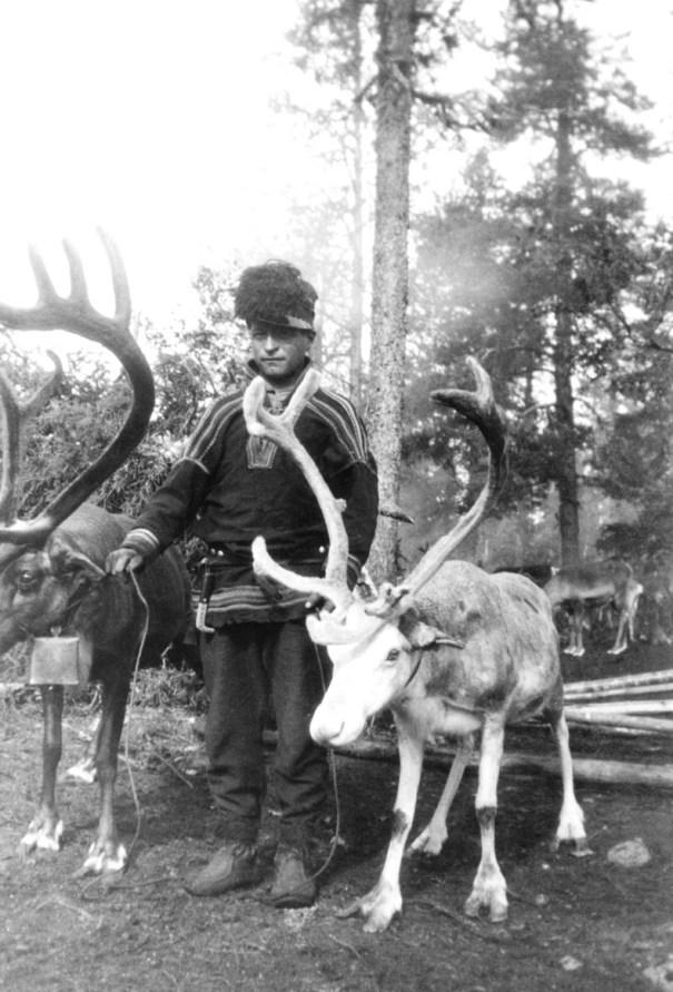 Johan Sev 228 1929 Sweden He S Of Sami Northern