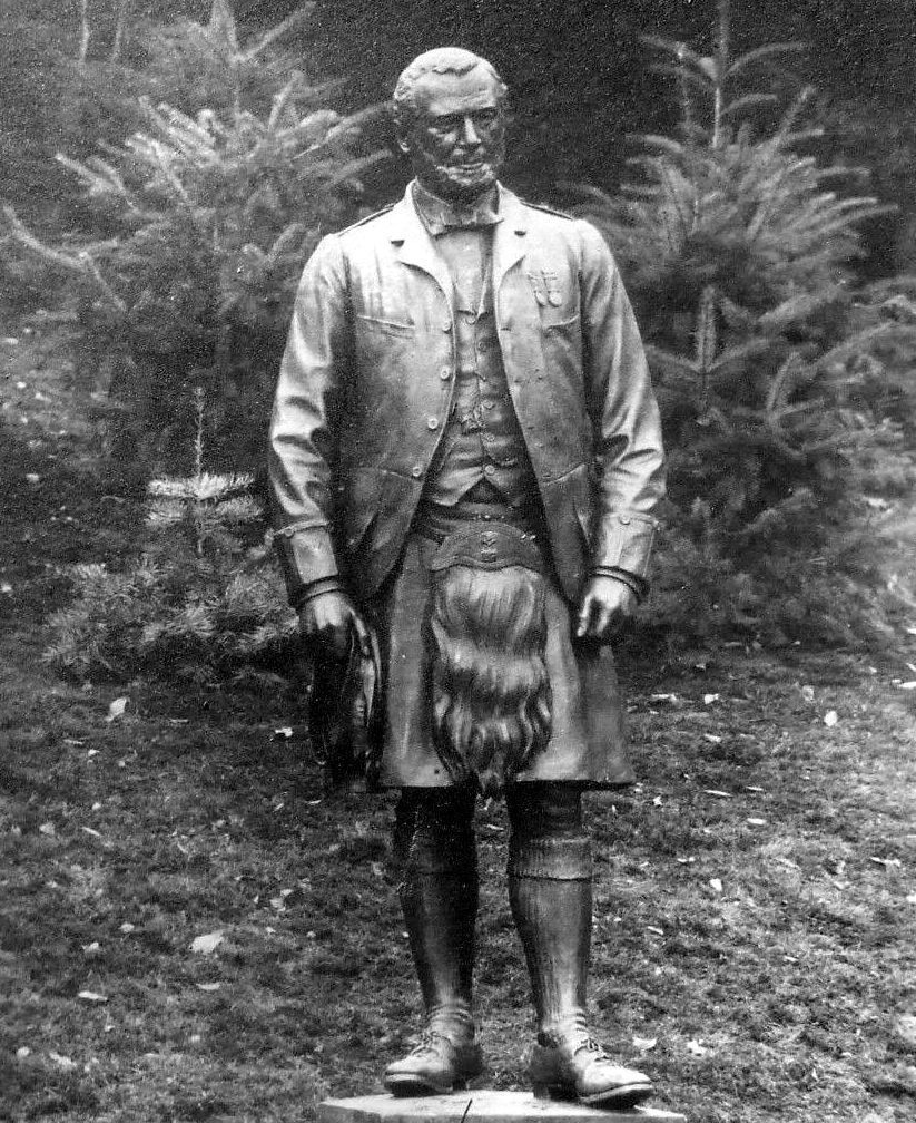 After Johns Death Victoria Commissioned A Life Sized Statue Of Her Highland Servant And Had It Placed In The Grounds Of Balmoral