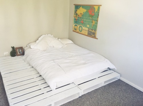 Pallet Bed On Tumblr