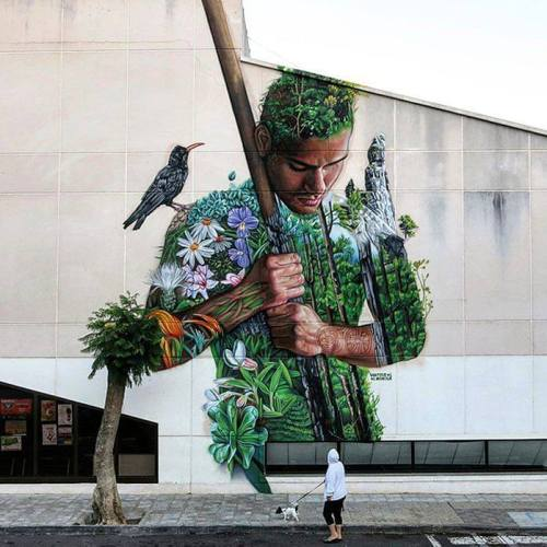 coloursxart:  By Sabotaje al montaje - Located in La Palma, Spain