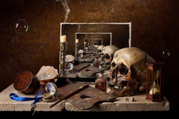 Still Life - Infinite Vanitas by Kevin Best, 2011. Digital art.As you might imagine, I look at a lot of art. On a normal day, I usually reject about three pieces for every one I post. One of the problems I often have when posting to this blog...