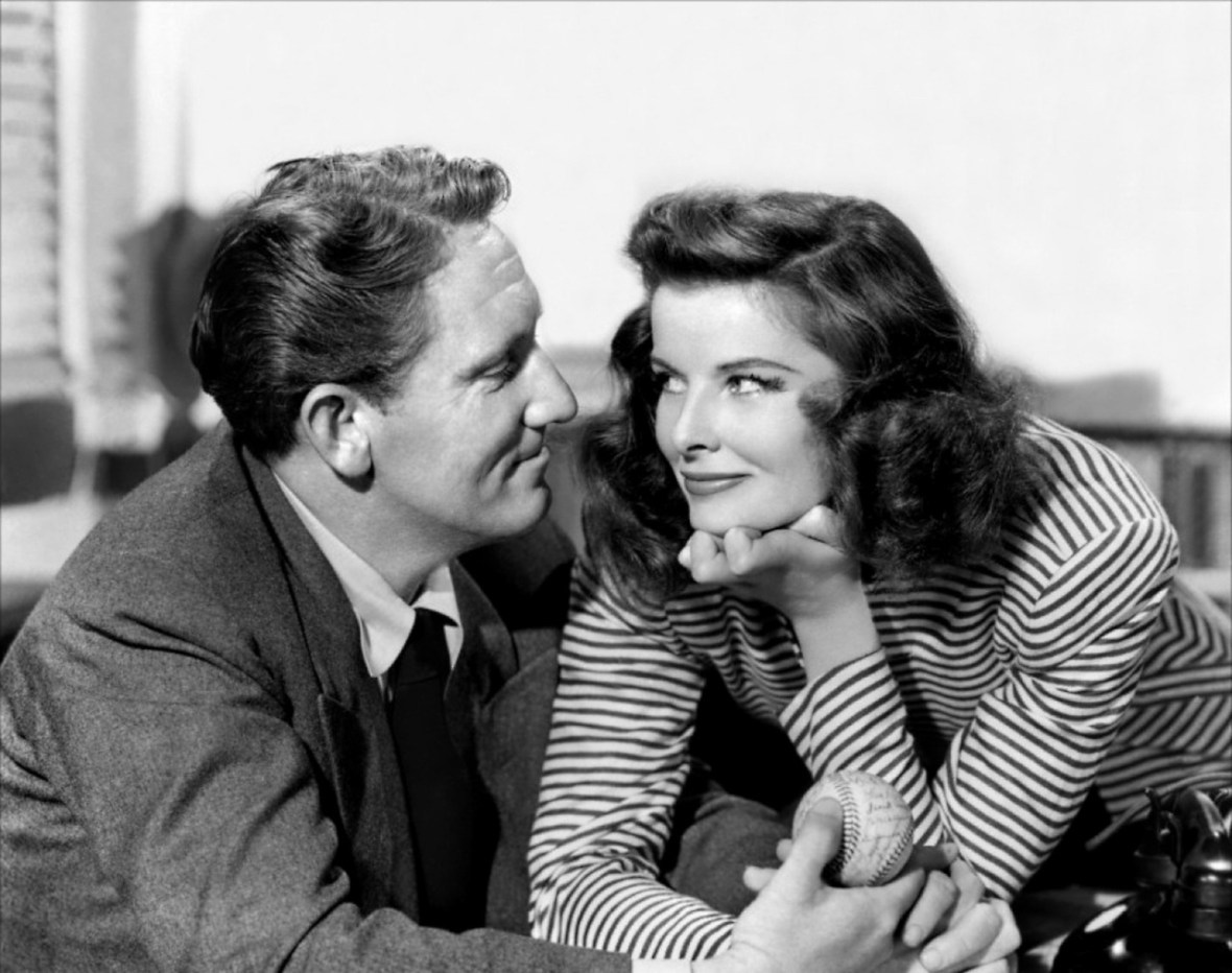Spencer Tracy and Katherine Hepburn - from 'Woman of the Year' - 1942