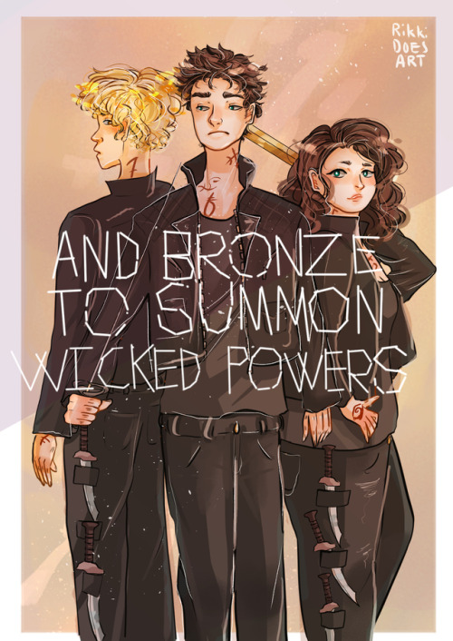 """ and bronze to summon wicked powers."""