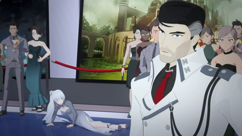 Review Rwby Vol 4 Chapter 6 Tipping Point moreover  on tyrien rwby vol 4