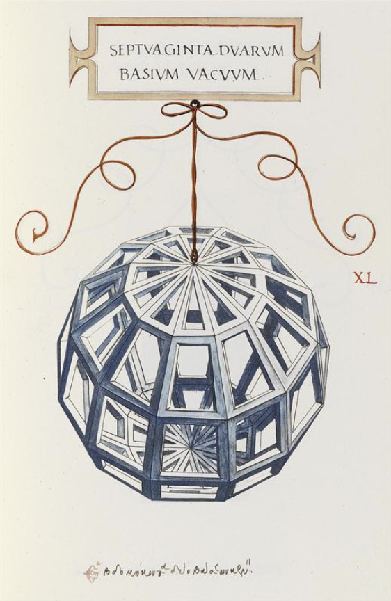 Fra Luca Pacioli, De divina proportione, after Drawings of Leonardo da Vinci, published 1509. Officina Bodoni, Milano, 1956.
