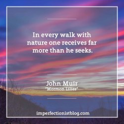 "#200 - ""In every walk with nature one receives far more than he seeks."" -John Muir http://vault.sierraclub.org/john_muir_exhibit/writings/steep_trails/chapter_9.aspx"