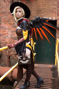 OW: I'll Be Watching Over You by azulann  Check out http://hotcosplaychicks.tumblr.com for more awesome cosplay
