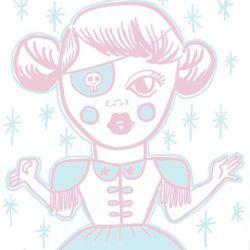 The Pastel Pirate #doodle #drawing #doodlesofinstagram #arty #perthcreatives #perthartist #digitalart #drawdrawdraw #girlie #illustration