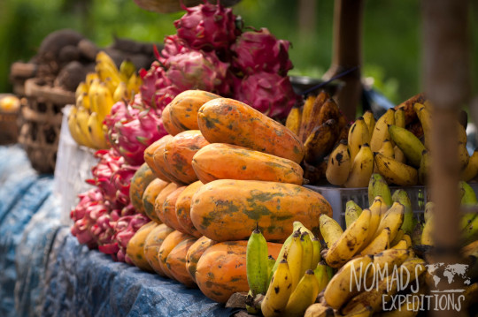 bali indonesia travel adventure culture journey indo pacific explore discover fruit food stand market tropical papua banana dragon refreshing