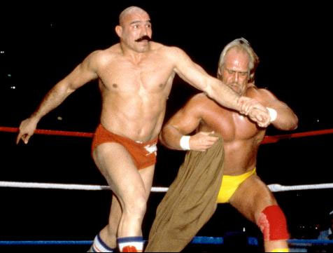 Image result for hulk hogan iron sheik