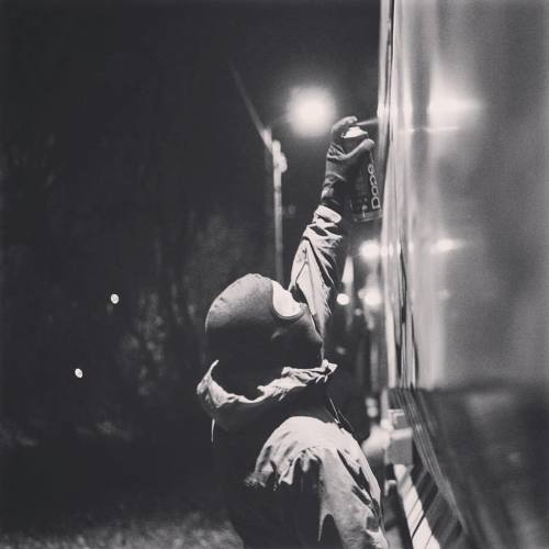 dopecans:  #dope #dopecans #spraypaint #sprayart #atmosphere #trainart #graffiti #freight