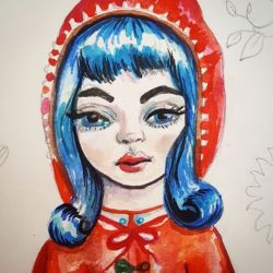 Working on a new piece. Any guesses as to who? Hehe #watercolors #portrait #artwork #doodles #sketching #sketch #onesketchaday #journal #pencil #perthcreatives #perthy #illustration #comic #cartoon #pencildrawing #bluehair #art