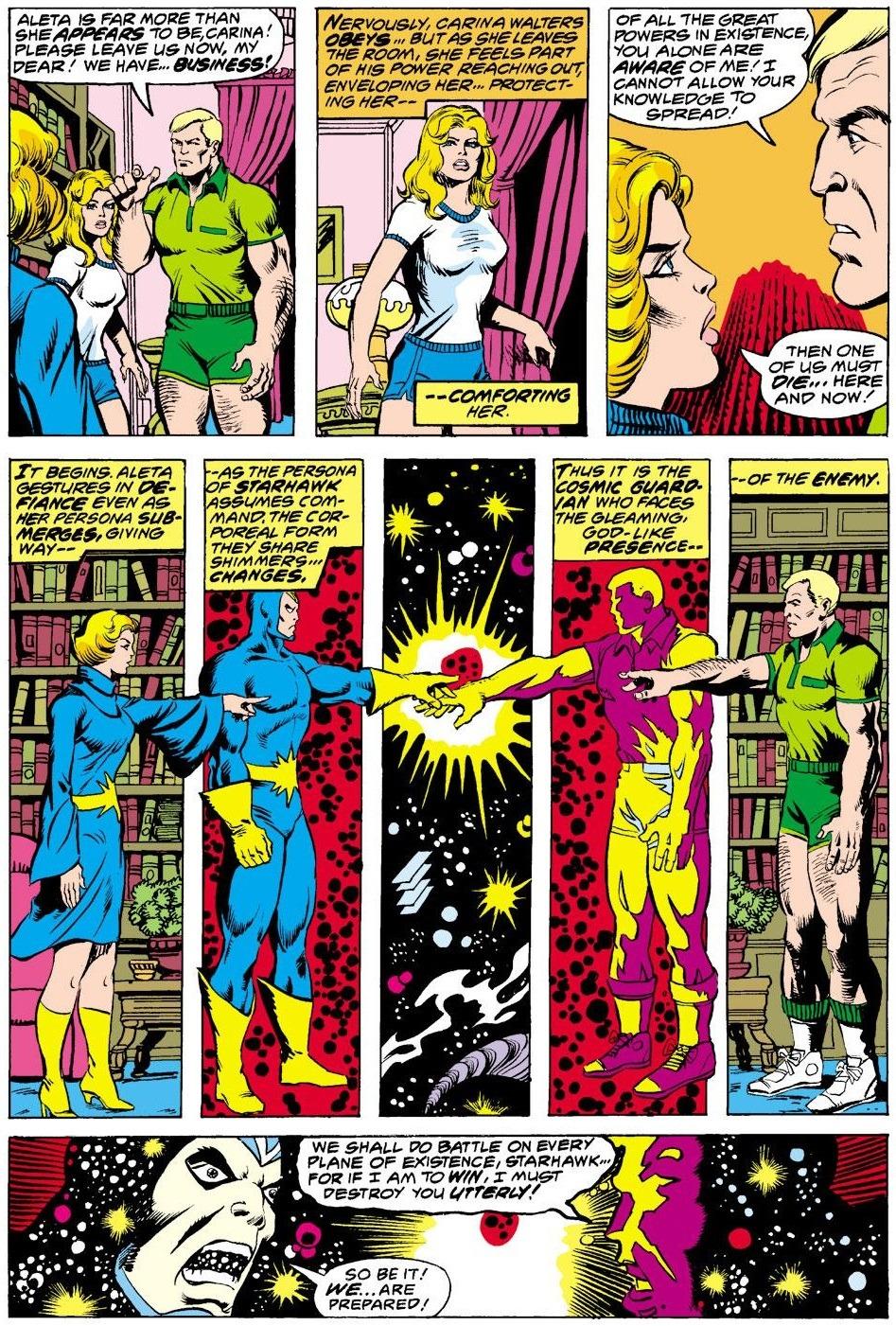 Image result for The Avengers #168 starhawk aleta