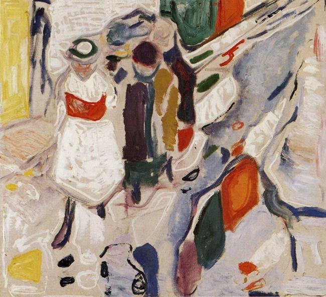 "terminusantequem: ""Edvard Munch (Norwegian, 1863-1944), Children in the Street, 1915. Oil on canvas, 92 x 100 cm """