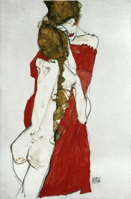 Egon Schiele | Byron's muse