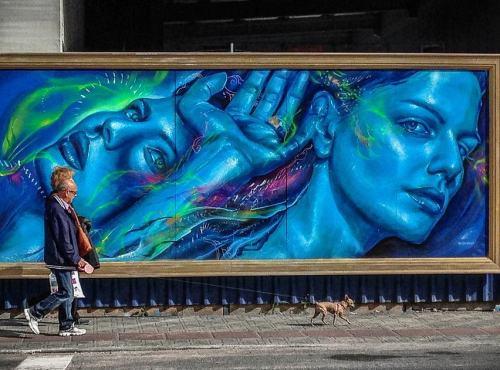 streetartglobal:  By @thiagovaldi in Brazil (http://globalstreetart.com/valdivaldi) #globalstreetart #valdivaldi https://www.instagram.com/p/BNM_RAjjRjk/