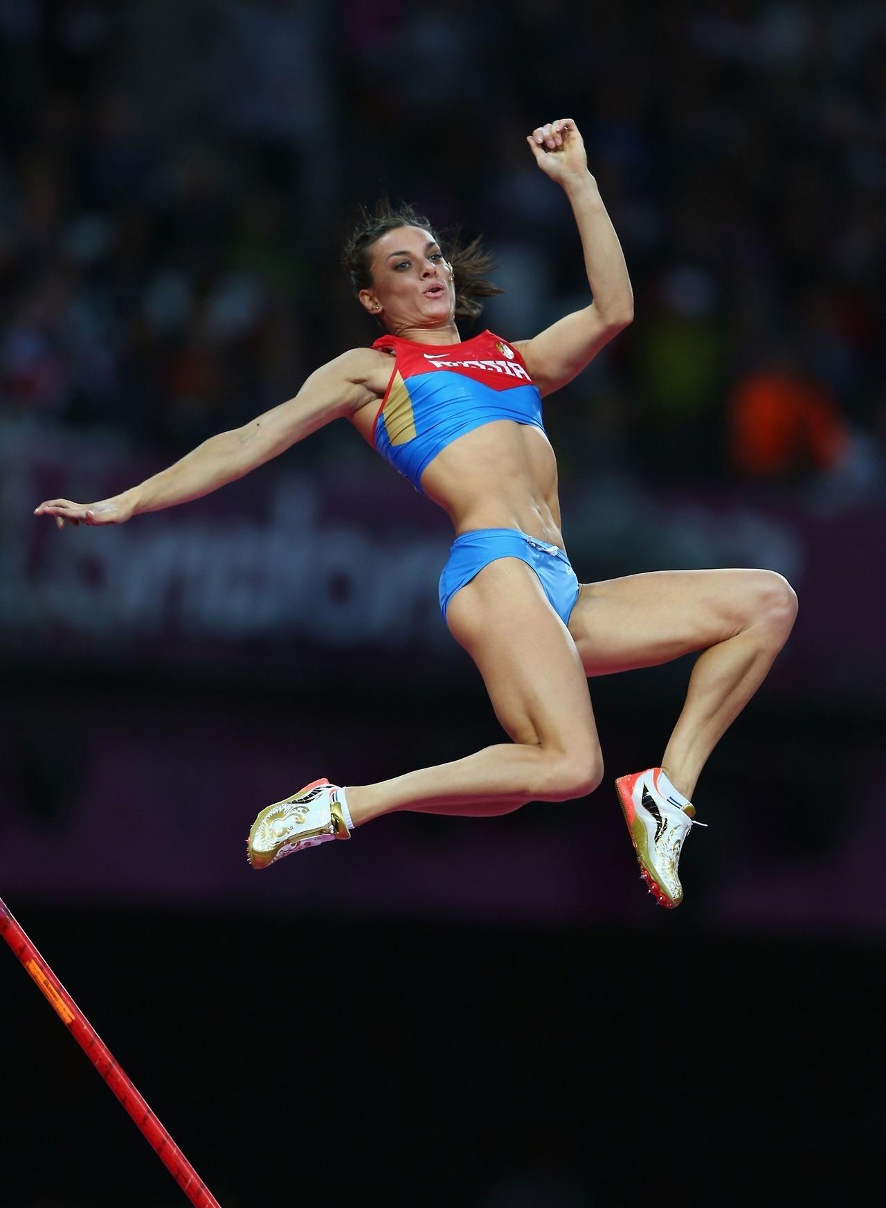 Yelena Isinbayeva London 2012 Olympics – Athletics