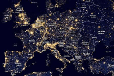 New Us Light Pollution Google Map Images - Map Informations ...