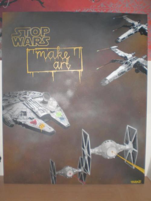 """Stop Wars Make Art""  Source: TERAone (https://www.facebook.com/pages/TERAone/212430902100310)"