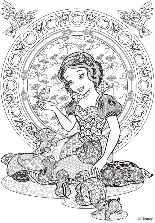 coloring pages for disney  tumblr