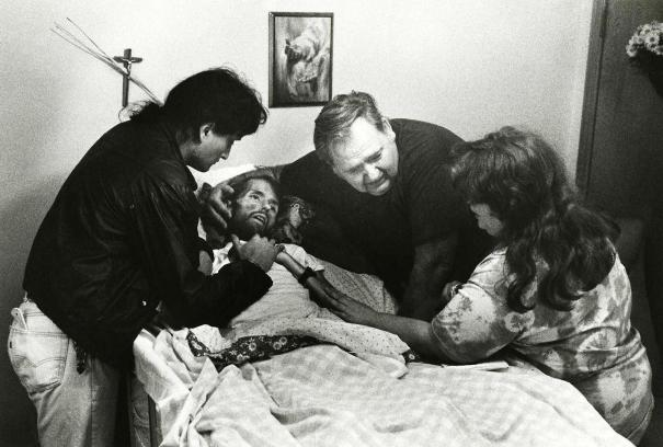 David Kirby, on his deathbed in Ohio, 1989 via reddit Source