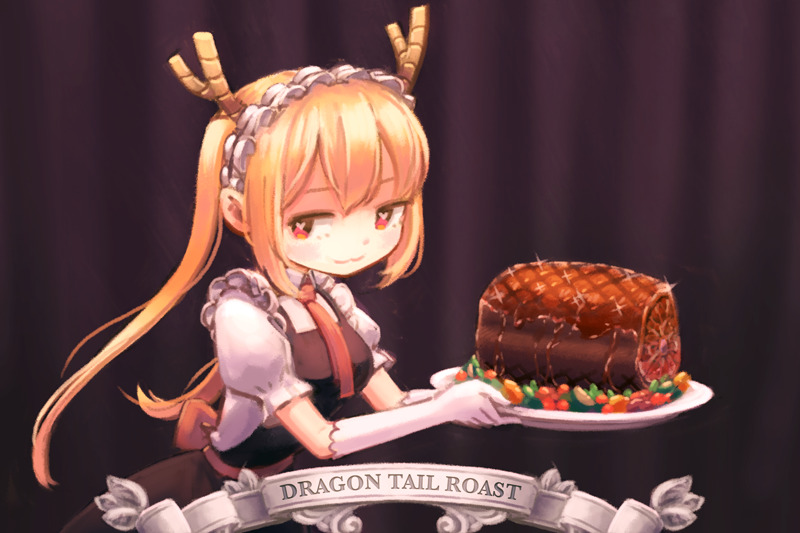 Image result for tohru's tail