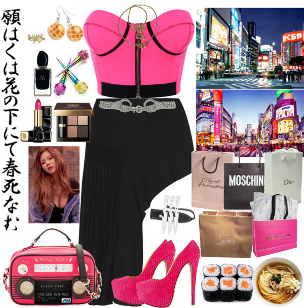 Fashionista by lucilxlu featuring Moschino