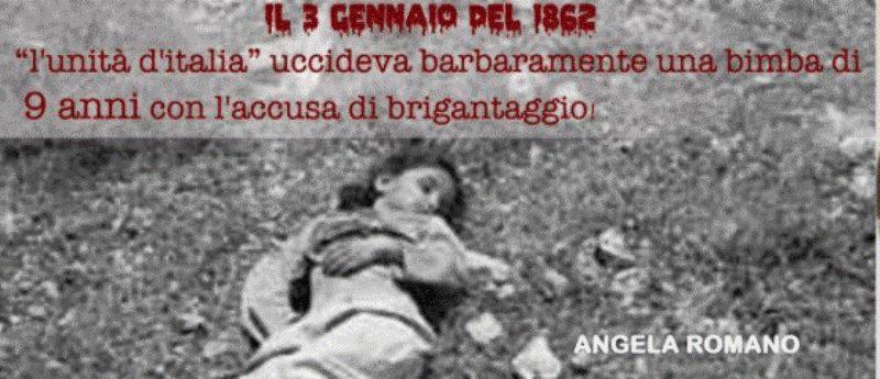 La piccola Angelina Romano, martire dell'Unità d'Italia Oggi si narrerà una storia triste, drammatica, una storia che se per un verso è assimilabile a tantissime altre, per un altro contiene qualcosa di talmente scomodo, da essere stata volutamente...