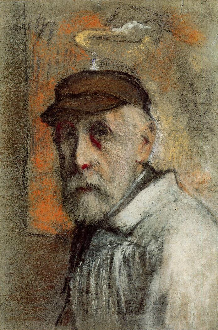 "artist-renoir:""Self-Portrait via Pierre-Auguste Renoir"""
