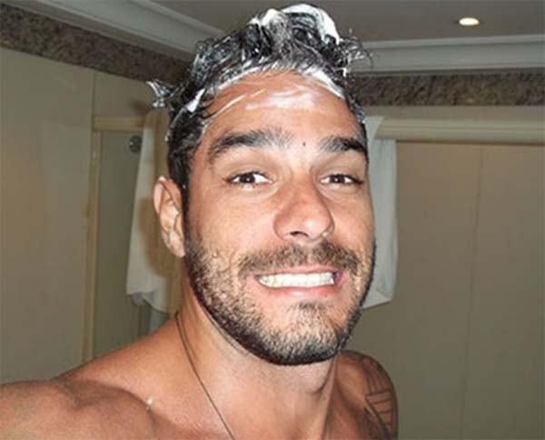 Diego Grossi Pelado banho BBB14