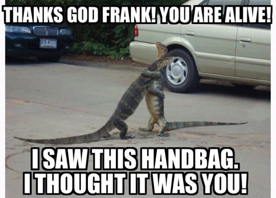 """srsfunny: """" Oh Frank, You're Alive """""""