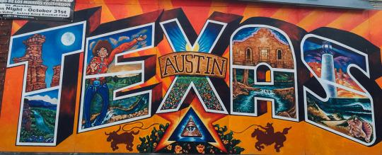 Murals art Austin texas travel streetart