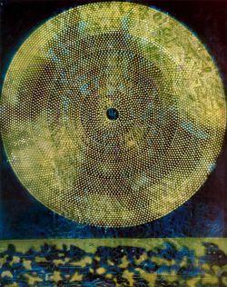 surrealism-love:  Birth of a galaxy, 1969, Max ErnstSize: 73x92 cmMedium: oil, canvas