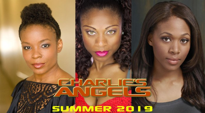 Since Charlie's Angels is getting remade again: here is my cast - Amber Ruffin - writer for Late Night With Seth Meyers Angelina Spicer - Stand-Up Comedian Nicole Beharie - Actress